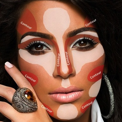 contour-kim-kardashian