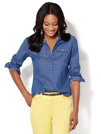 Madison-Shirt-Cotton-Blend-Chambray-Popover-_01239633_198